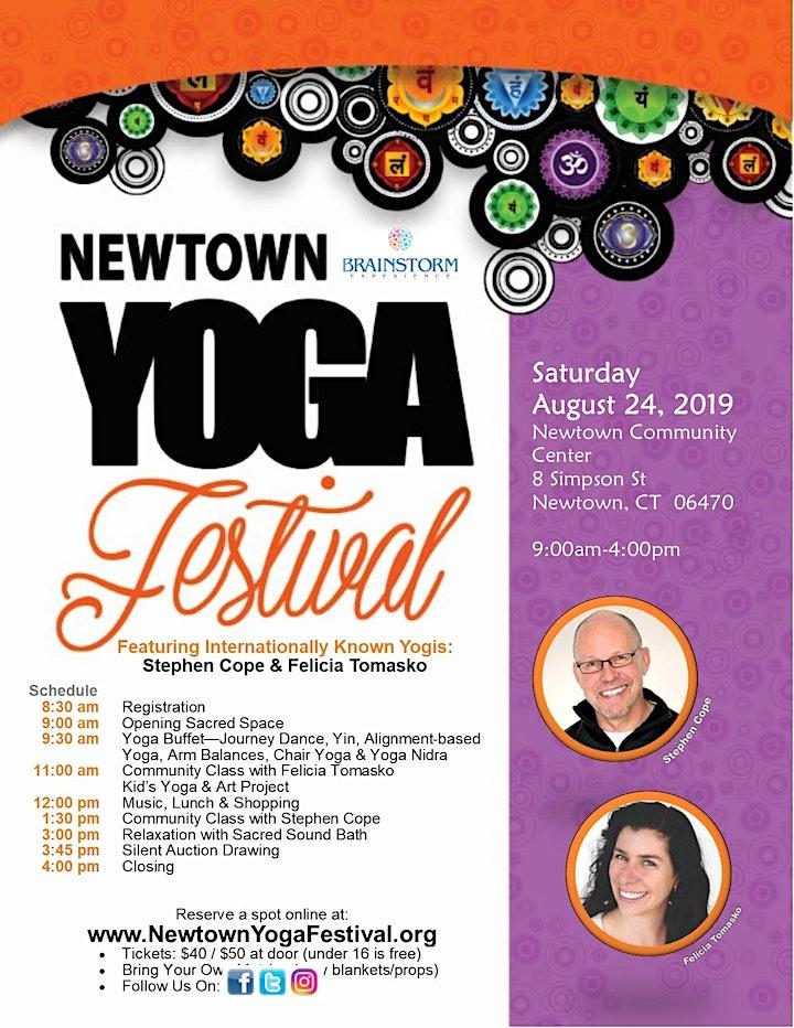 2019 Newtown Yoga Festival image