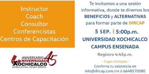 Sesión Informativa DIRCAP-Instructores y Capacitación en Ensenada