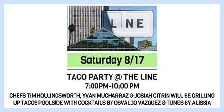 Taco Party @ The LINE tickets