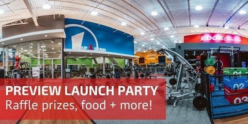 The Edge Fitness Clubs Warwick Preview Center Launch Party!