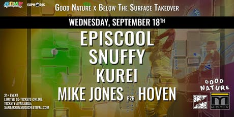 Episcool, Snuffy, Carlo Frick & Mike Jones b2b Hoven at Motiv tickets