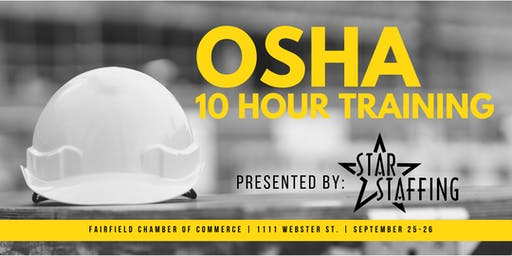OSHA 10 Hour Training - Fairfield