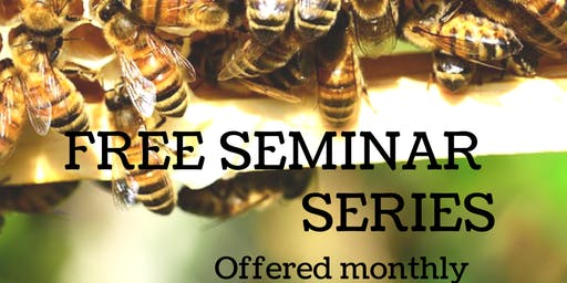 Free Beekeeping Seminar Class - Honey Harvest, Fall Management, Winter Prep