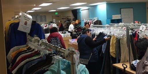 Startups Give Back: St. Anthony's Free Clothing Program