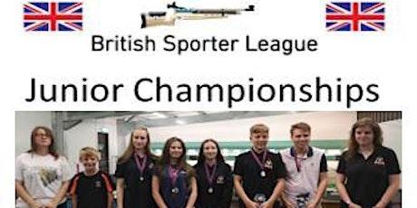 British Sporter League Junior Championships Sat 18 July 2020 tickets