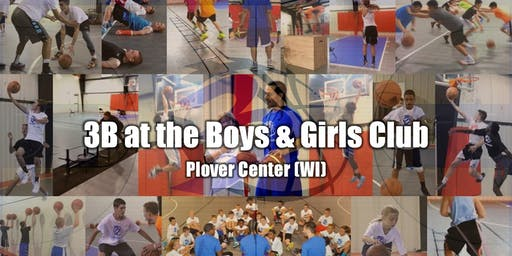 3B - Bball Training at The Plover Center Boys & Girls Club