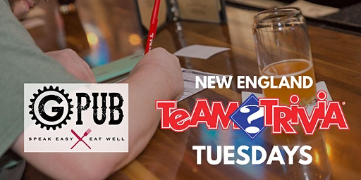 New England Team Trivia Tuesdays @ Providence GPub