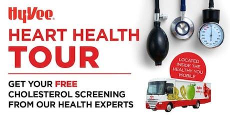 FREE Cholesterol Screening tickets