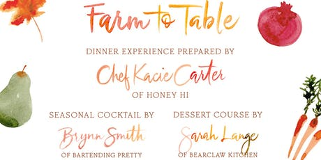 Farm-to-Table Fundraiser Dinner in Support of SEE-LA tickets