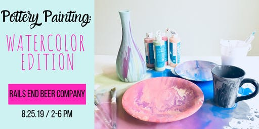 Pottery Painting: Watercolor Edition