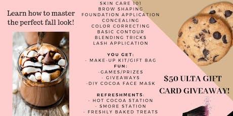 Make-up workshop (Sip & Slay Fall Edition) tickets