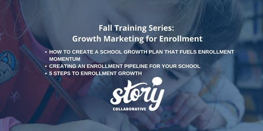 Fall Training Series: Growth Marketing Session 1: Building a Growth Plan