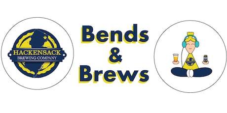 Bends & Brews - Beer Yoga tickets