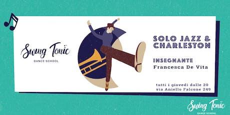 Corso di Solo Jazz / Tip Tap. Registrazione alle lezioni di prova del 3/10 biglietti