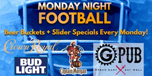 Monday Night Football @ Providence GPub