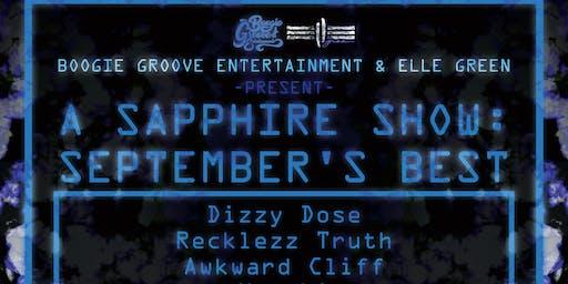 A Sapphire Show : September's Best