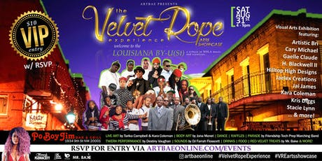The Velvet Rope Experience Arts Showcase... Welcome to the Louisiana By-U(St) tickets