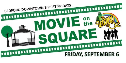 Movie on the Square (The Wizard of Oz) & Chalk Art