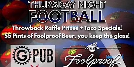 Thursday Night Football @ Providence GPub tickets