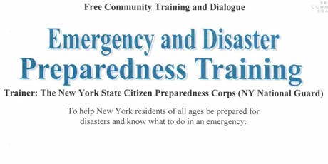 Emergency & Disaster Preparedness Training tickets