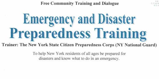 Emergency & Disaster Preparedness Training
