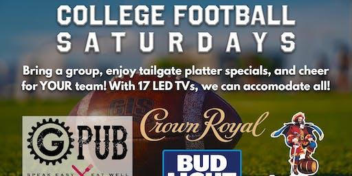 College Football Saturdays @ Providence GPub