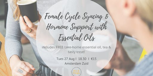 Female Cycle Syncing and Hormone Support with Essential Oils