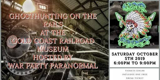 Ghost Hunting on the Rails in Miami, FL