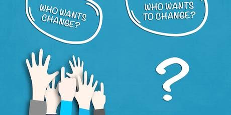 Change Management Classroom Training in Modesto, CA tickets