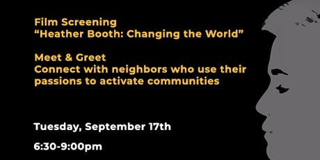 """Film Screening of """"Heather Booth: Changing the World"""" tickets"""