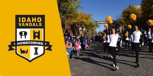 University of Idaho's Homecoming Parade