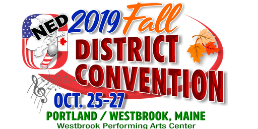 NED Fall Contest/Convention 2019 Portland