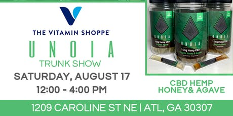 Vitamin Shoppe x UNOIA Trunk Show tickets