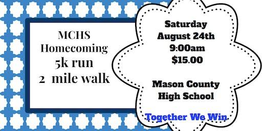 Mason County Schools Homecoming 5k