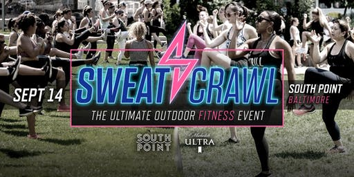 Sweat Crawl Fall Fit Fest - South Point (Baltimore) - September 14th