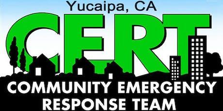 Community Emergency Response Team (CERT) Basic 20-Hour Training  tickets