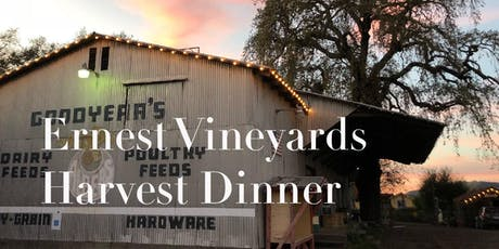 Ernest Vineyards Harvest Dinner tickets