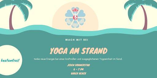 Yoga am Strand - Kostenfrei