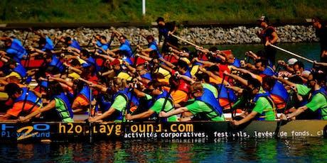 Levée de fonds en bateau dragon pour l'équipe Tadagaz du 24h Tremblant billets