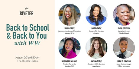 Back To School and Back to You with WW at The Riveter Dallas tickets