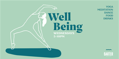 Well Being | Yoga & Wellness Happy Hour