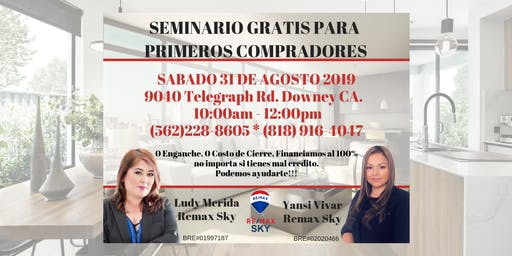 SEMINARIO PARA PRIMEROS COMPRADORES GRATUITO!!!