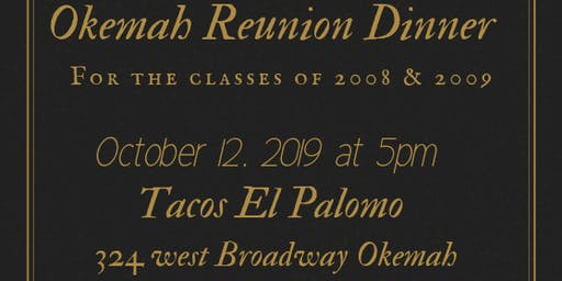Okemah Class Reunion