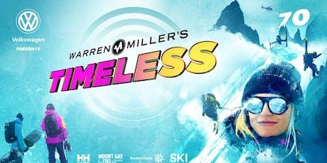 Volkswagen Presents Warren Miller's Timeless - Encinitas - Saturday 3:00pm tickets