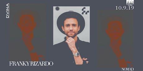 DVINA Wednesdays: FRANKY RIZARDO tickets
