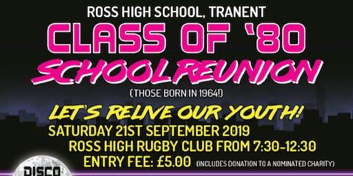 Ross  High Reunion Class of 1980
