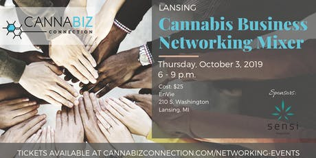 Lansing Cannabiz Connection Networking Mixer tickets