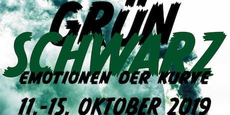 SCHWARZ-GRÜN–Emotionen der Kurve Tickets