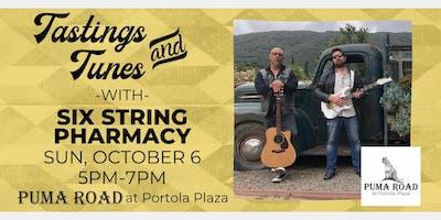 Live Music - Tastings & Tunes w/ Six String Pharmacy