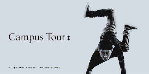 UCLA Arts Prospective Student Tour - 10/11
